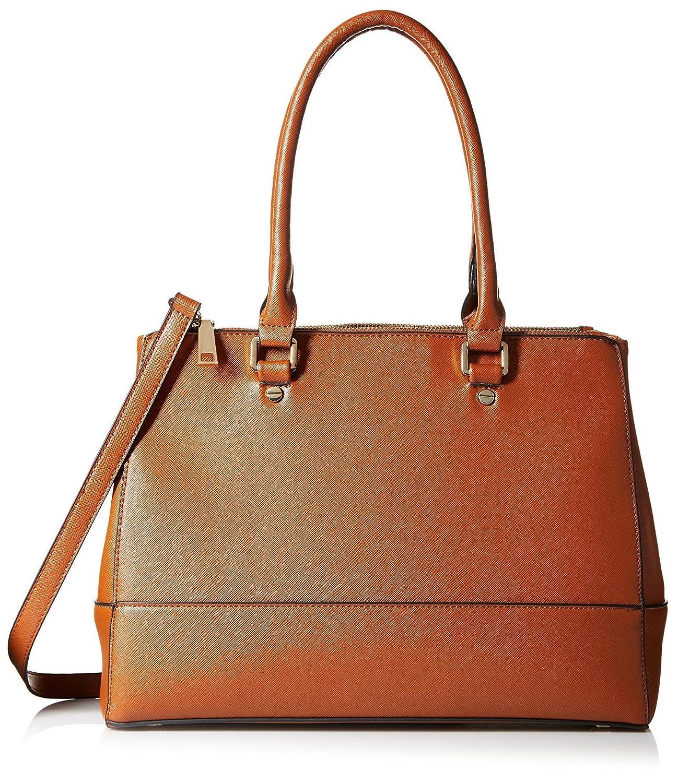 SOCIETY NEW YORK Women's Satchel Bag, Black/Black: Handbags ...