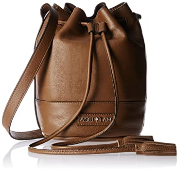 a1813ba338e4 Aquatan Women s String Along Medium Sling Bag Brown … Hautton wholesale  genuine leather medium sling shoulder bag men messenger bags