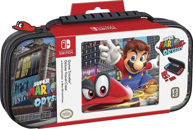 Mario Odyssey Suitcase NNS 51 (licencia de Nintendo) (colores surtidos): Amazon.es: Videojuegos