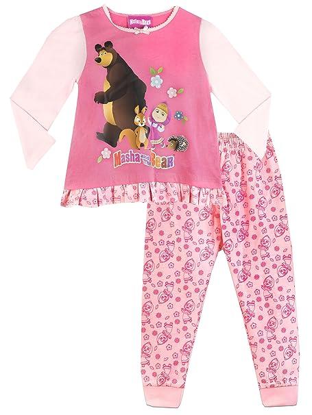 Masha y el Oso - Pijama para niñas - 5 - 6 Años