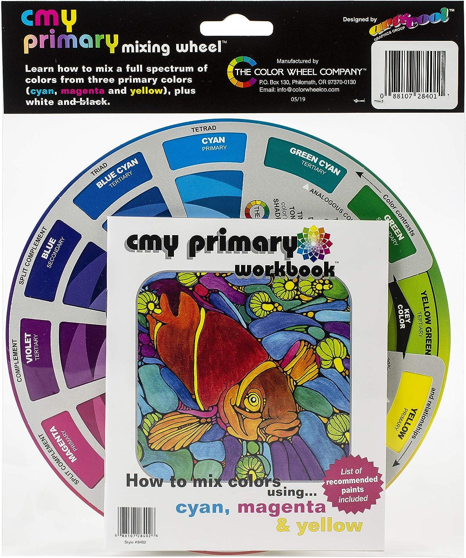 COLOR WHEEL COMPANY 8401 COLOR WHEEL W//BOOK