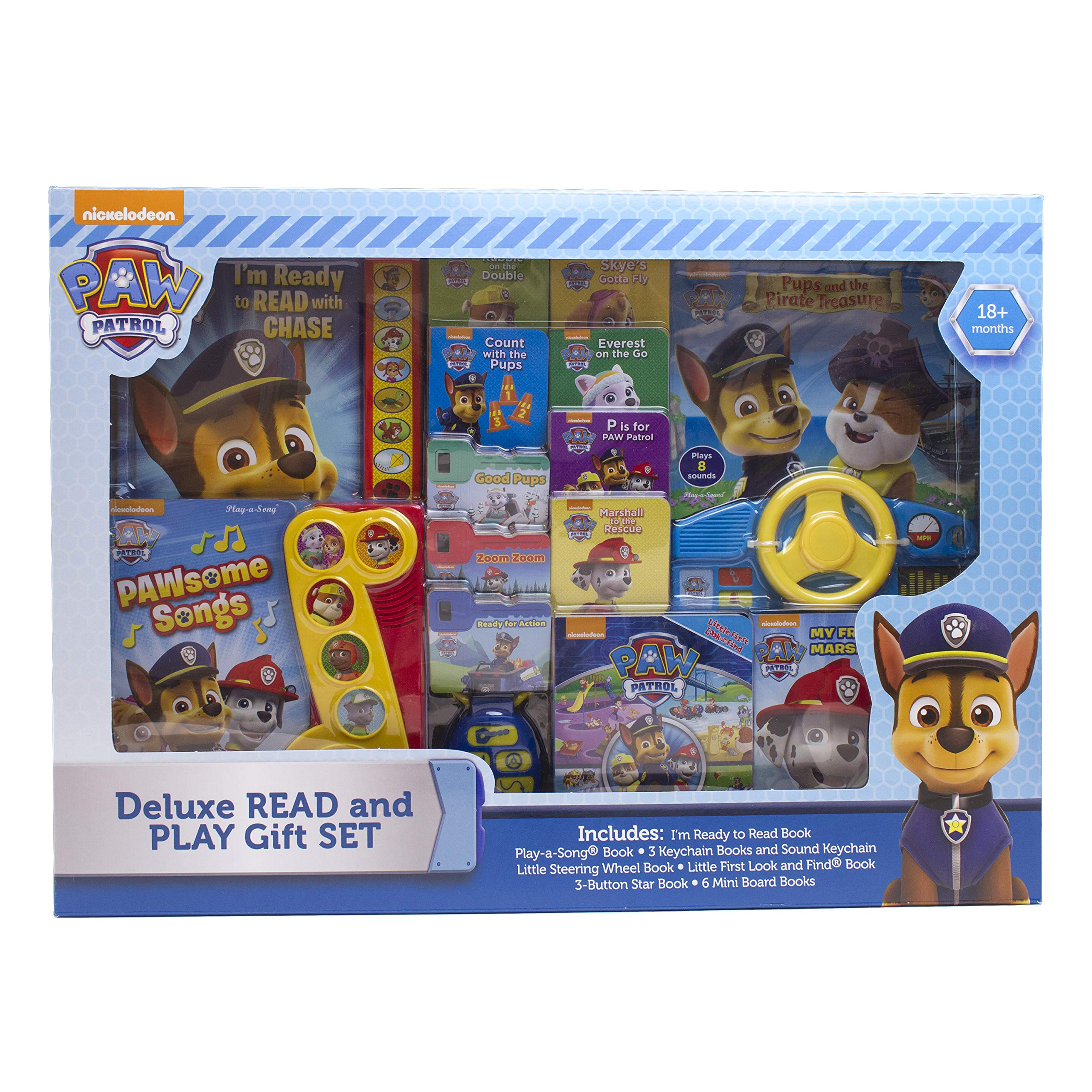 Download Paw Patrol Deluxe Read and Play Bulk Stack Gift Set pdf