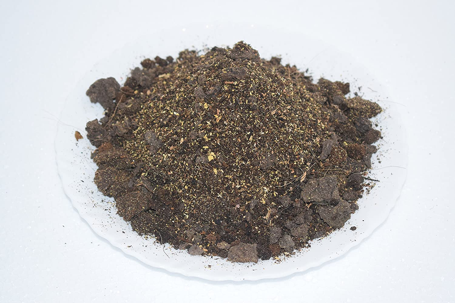 Potting Soil Mix Organic (1Kg, Dark Brown) with Vermiculite For ...