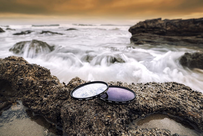 Hoya 55mm NXT Plus Circular Polarizer Slim Frame Glass Filter