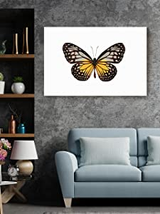 Christmas Sweater for women Single Butterfly Canvas Nature Insect Artwork Entryway Living Room Wall Décor Home Workplace Aesthetic Prints 24