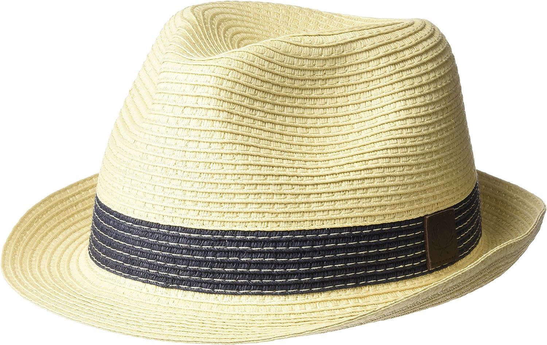 Fred Perry - Sombrero de Vestir - para Hombre marrón Natural Large ...