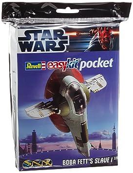 Revell 06736 Easy Kit Mini Star Wars - Maqueta de Esclavo I de Boba Fett (tamaño Bolsillo, Escala 1:171)