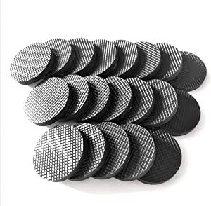 20PCS Furniture Rubber Non-Slip mat Multifunctional Floor Protection Rubber mat is Used for Furniture feet, Wooden Floors, Doors and Walls. Anti-Slip, Shock-Absorbing and Noise-reducing Viscose pad