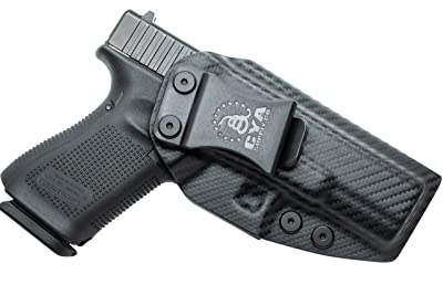 CYA Supply Co. IWB Holster Fits: Glock 19 / 19X / 23/32 / 45 - GEN 3-5 - Veteran Owned Company - Made in USA - Inside Waistband Concealed Carry Holster