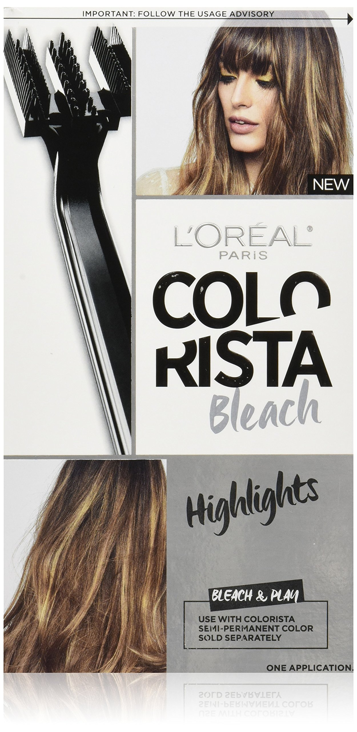Amazon Com L Or 233 Al Paris Colorista Bleach Ombre Beauty