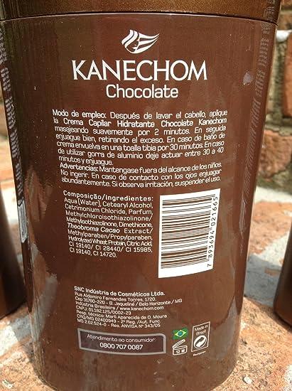 Amazon.com : Kanechom Dark Chocolate 4 Pcs Set, Shamp, Cond, Styling Cream & Mask : Hair Care Product Sets : Beauty