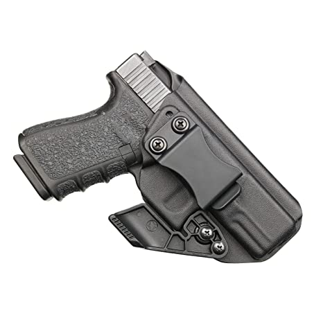 BrotherCraft Kydex Claw Holster for Glock 19/19x/23/32/45 gen 3/4/5-  IWB/AIWB with Removable RCS Claw Concealment Wing, Adjustable Cant and Ride