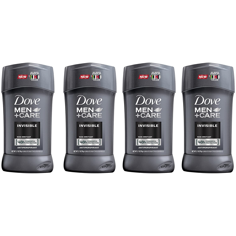Dove Men+Care Elements Antiperspirant Deodorant Stick, Minerals + Sage 2.7 oz, (Pack Of 4)