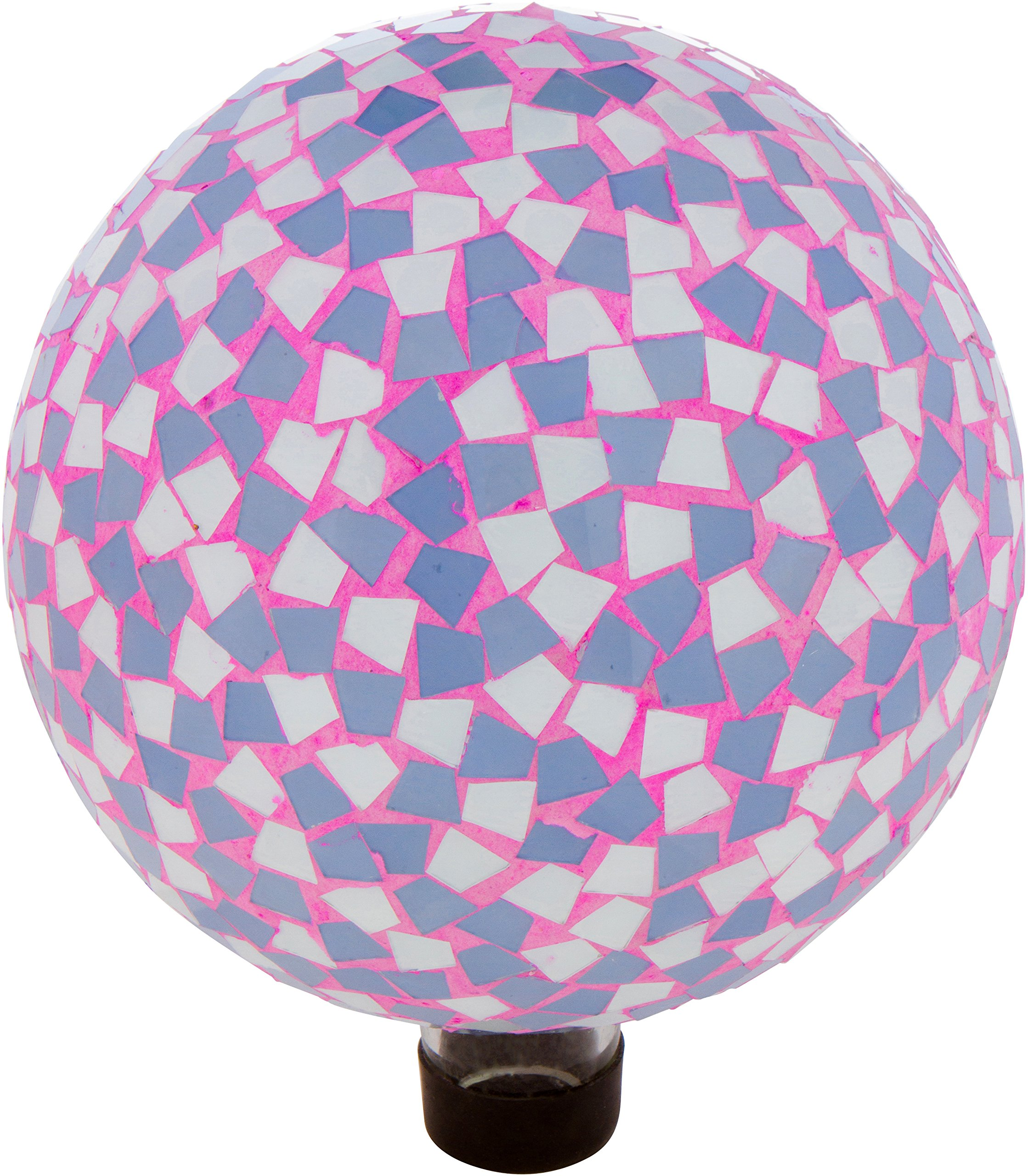 Trademark Innovations 10'' Mosaic Glass Gazing Mirror Ball (Mosaic Design)
