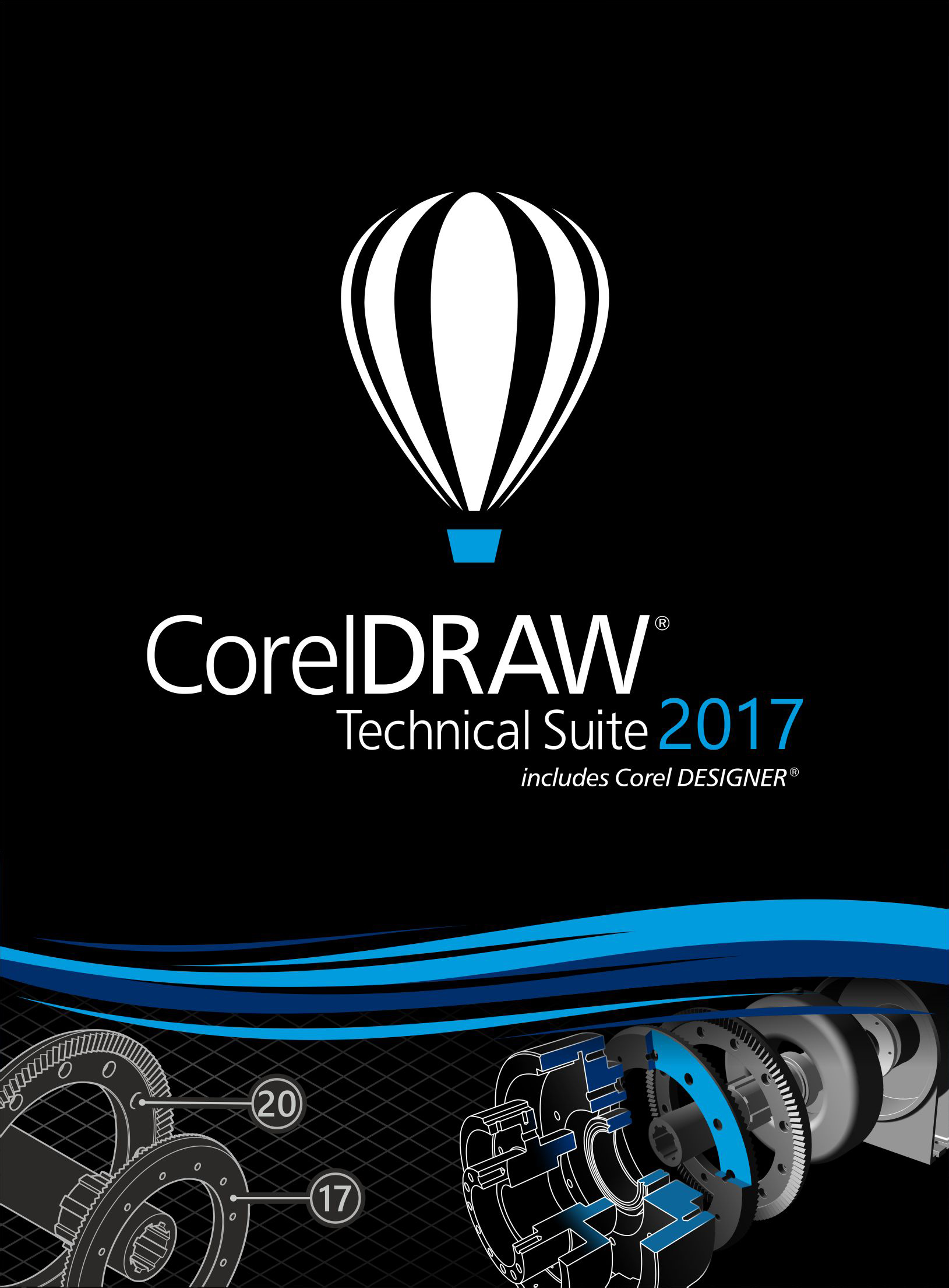 CorelDRAW Technical Suite 2017 - Education Edition [Download] by Corel