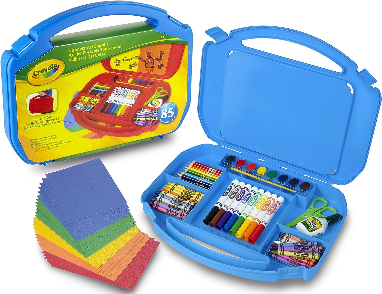 04-2704-E-000 Kit de Loisir Créatif Crayola Atelier Portable Tout-en-Un