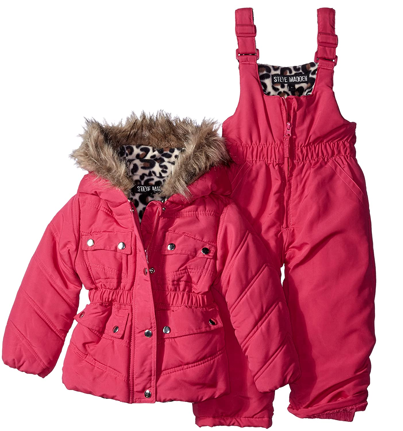 3fc2d1f83 Amazon.com  Steve Madden Baby Girls  Snow Suit (More Styles ...