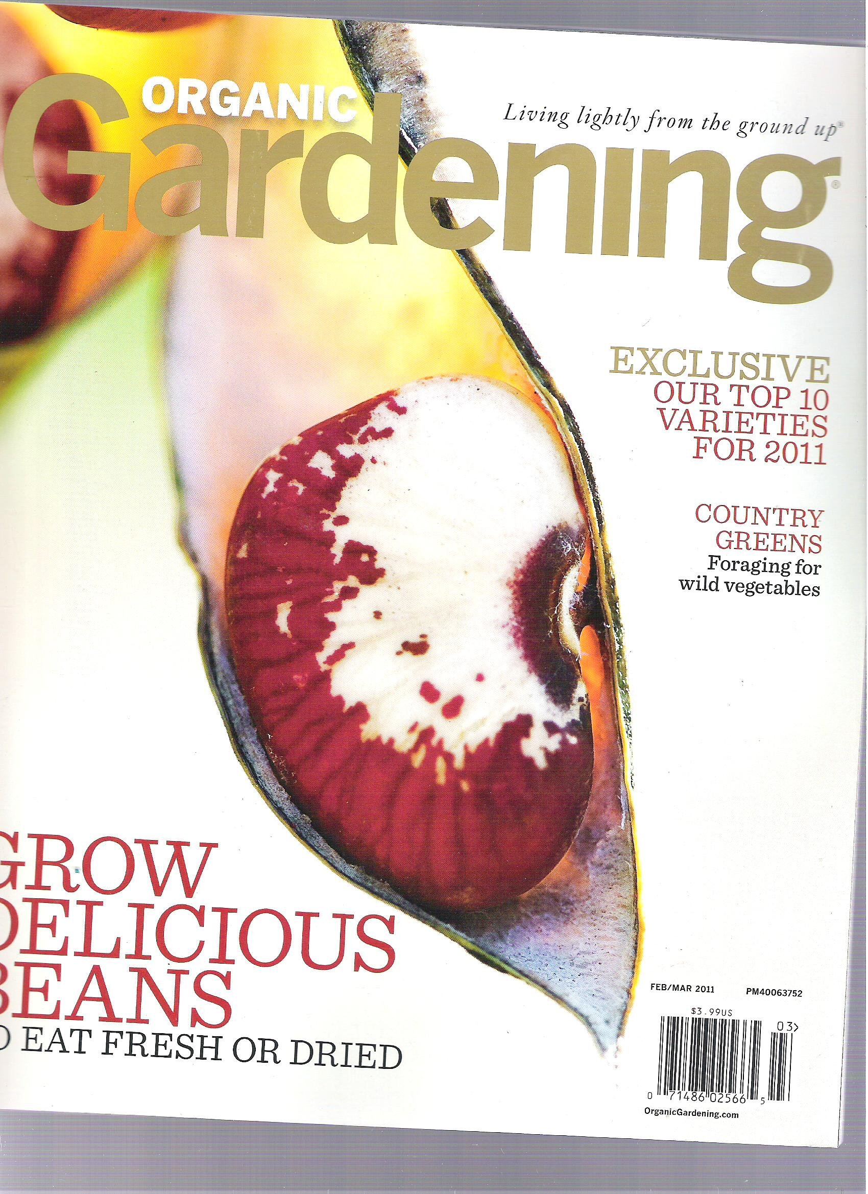 Organic Gardening Magazine (Grow delicious Beans, Feburary/ March 2011) ebook