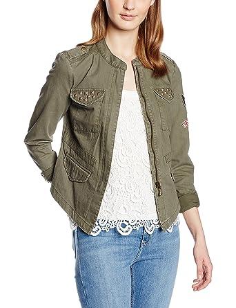 Wie findet man schnüren in erstklassig ONLY Damen Jacke onlAUSTIN Cargo Jacket PNT, Grün (Grape ...