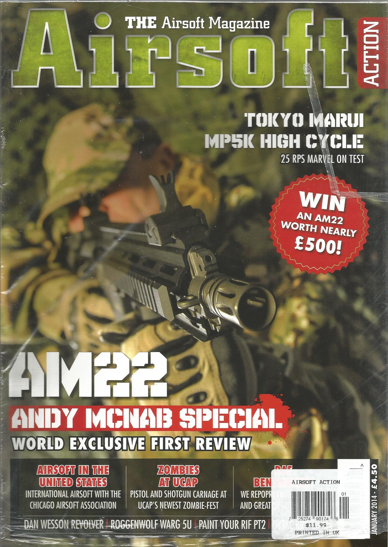 Airsoft Action (January 2014) PDF