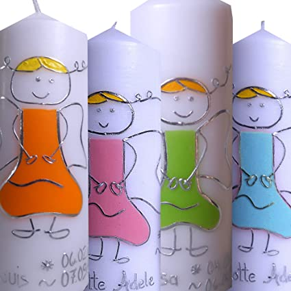 Arte de la vela niña jóvenes ángel de la guarda 200 x 70 con ...