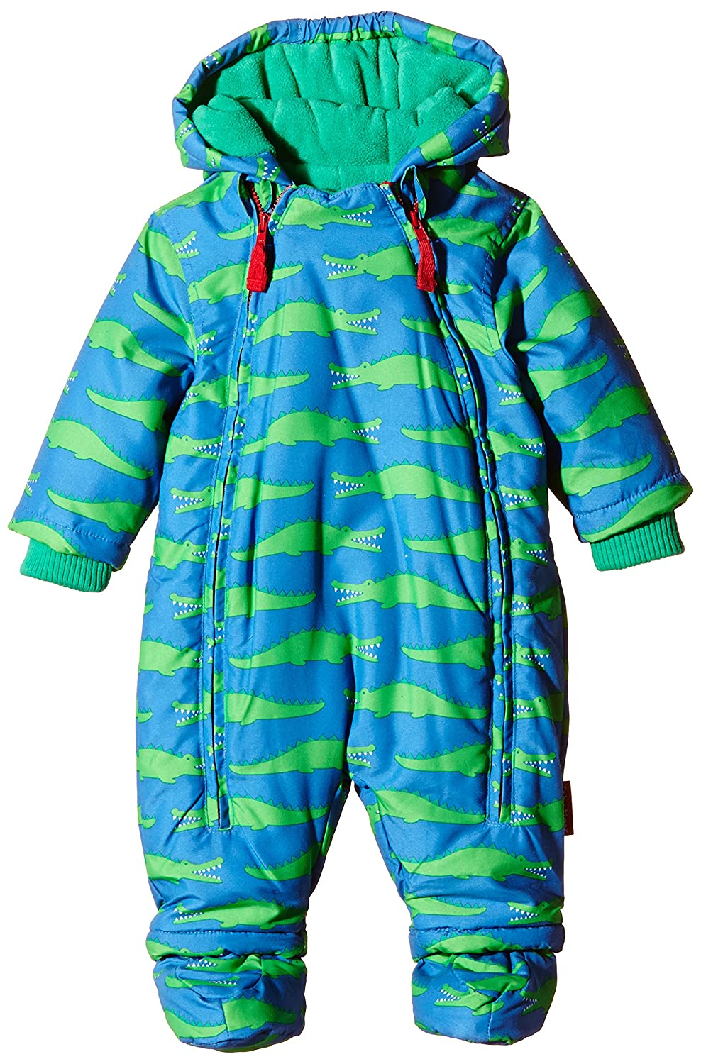 Toby Tiger - Fleece Lined with Waterproff Outer Croc Snowsuit with Detachable Feet, Tuta da Neve Bambino SNOWCROC