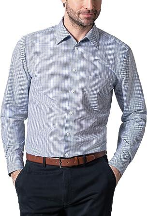 Walbusch - Camisa para hombre, sin necesidad de planchar ...