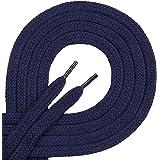 Di Ficchiano Lacets de qualité – Plat – env. Largeur : 7 mm - 100% coton, indéchirable, 16 couleurs, 45-200 cm