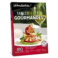 Wonderbox - Coffret cadeau - TABLES GOURMANDES