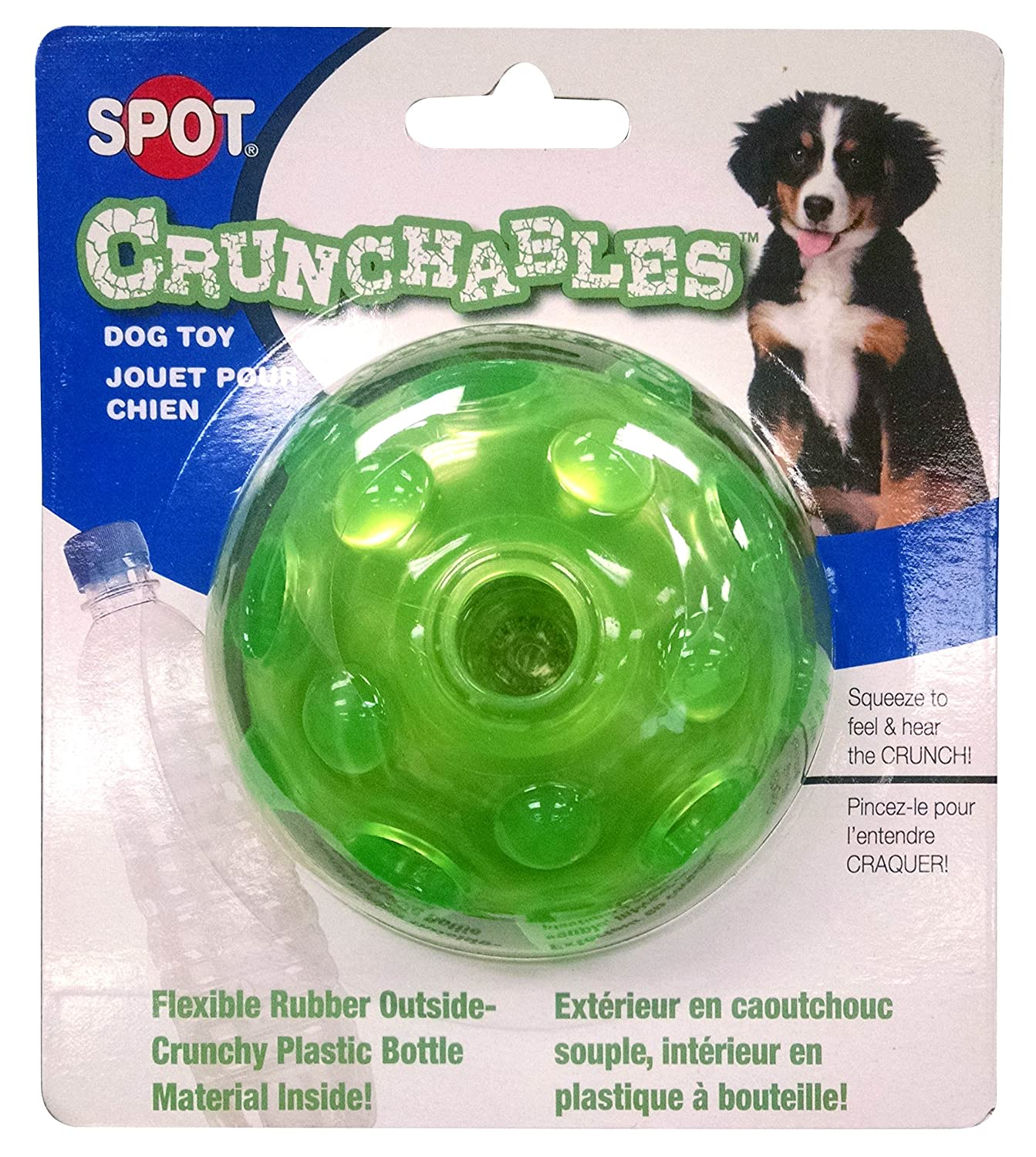 Ethical Pets Crunchable Ball Dog Toy