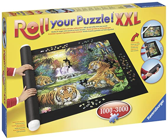 Amazon.com: Ravensburger Roll Your Puzzle! Jigsaw Puzzle Mat (1000-3000 Piece): Varios: Toys & Games