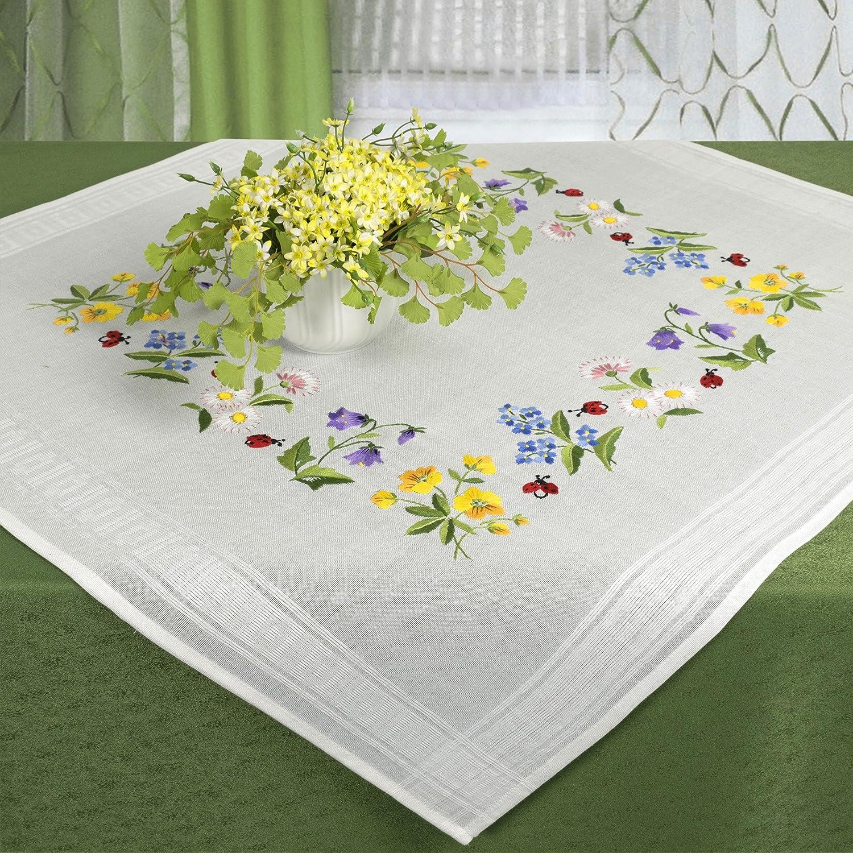 Kit de bordado primavera Meadow/Kit de punto con patrón de bordado ...
