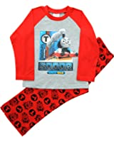 Boys Thomas Tank Engine Long Red Pyjamas Ages 12 Months to 5 Years
