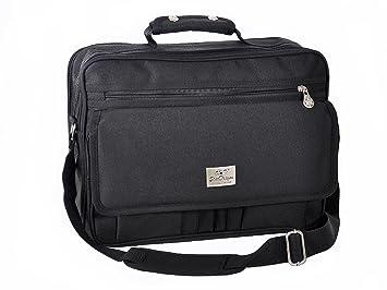 Arbeitstasche Schultertasche Flugbegleiter Umh/ängetasche Business Messenger Bag Tasche Schwarz