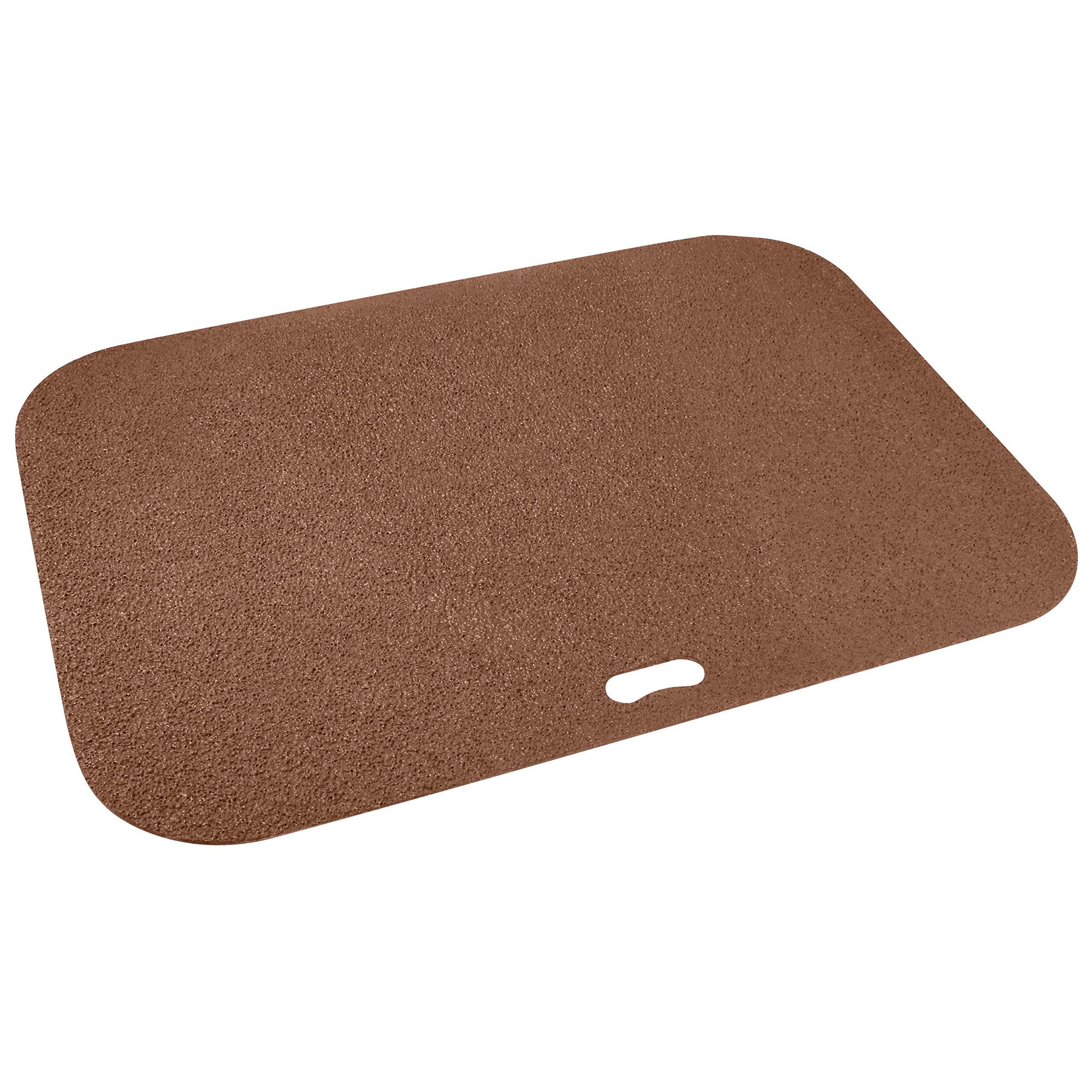Diversitech Original Grill Mat - BBQ Floor Mat - Put Under Gas Grill, Fryer, Fire Pit - Protects Decks and Patios - 30 x 42 Inches - Rectangle - Brown