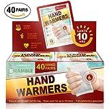 40 Pack Bulk Sets - Premium Hand Warmers and Foot Warmers to ensure Maximum Warmth & Comfort in Winter (Please choose below)