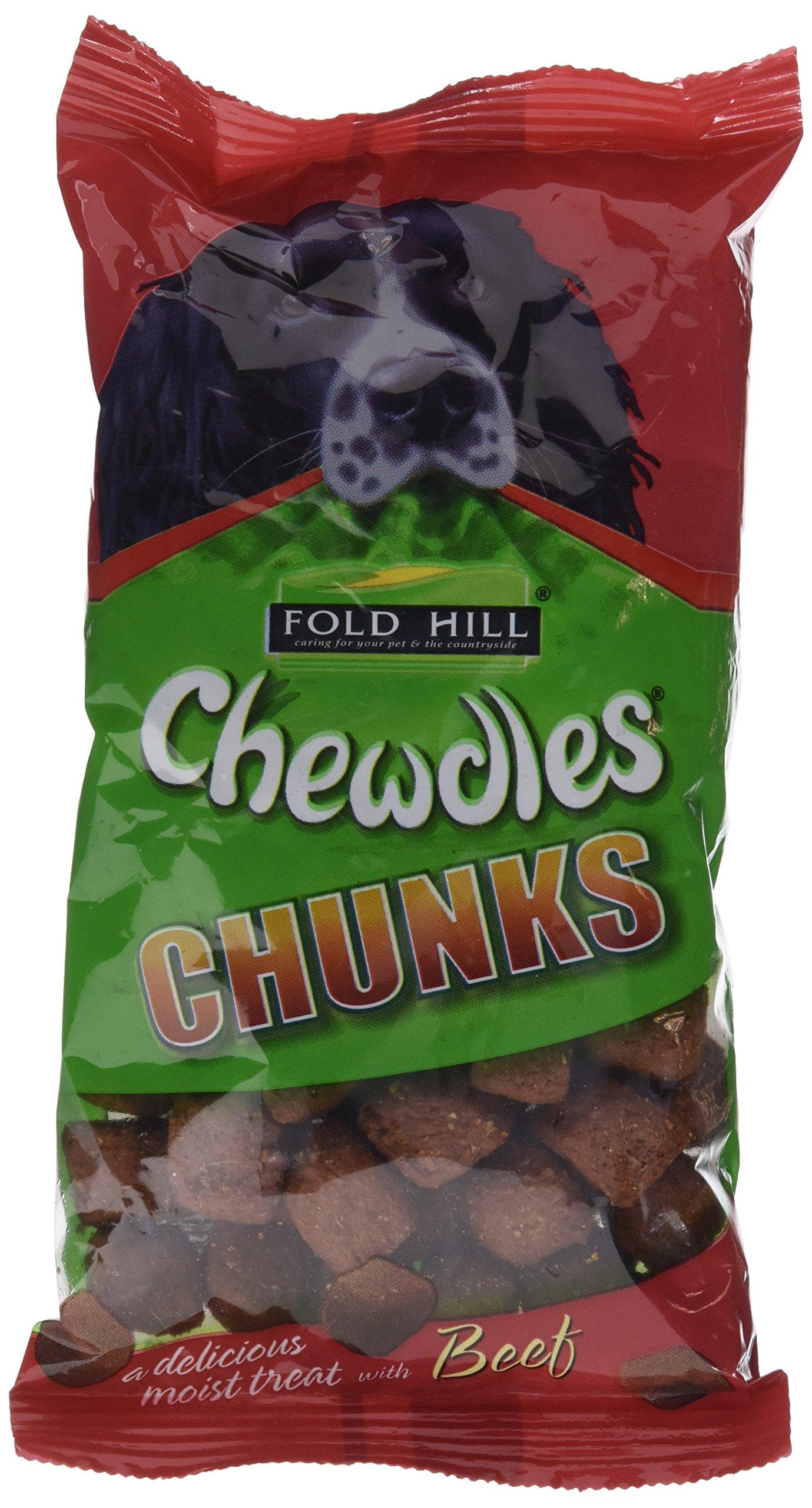 Fold Hill Chewdles Moist Chunks Beef 180G by Fold Hill