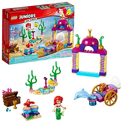 LEGO Juniors Ariel's Underwater Concert 10765 Building Kit (92 Piece): Toys & Games