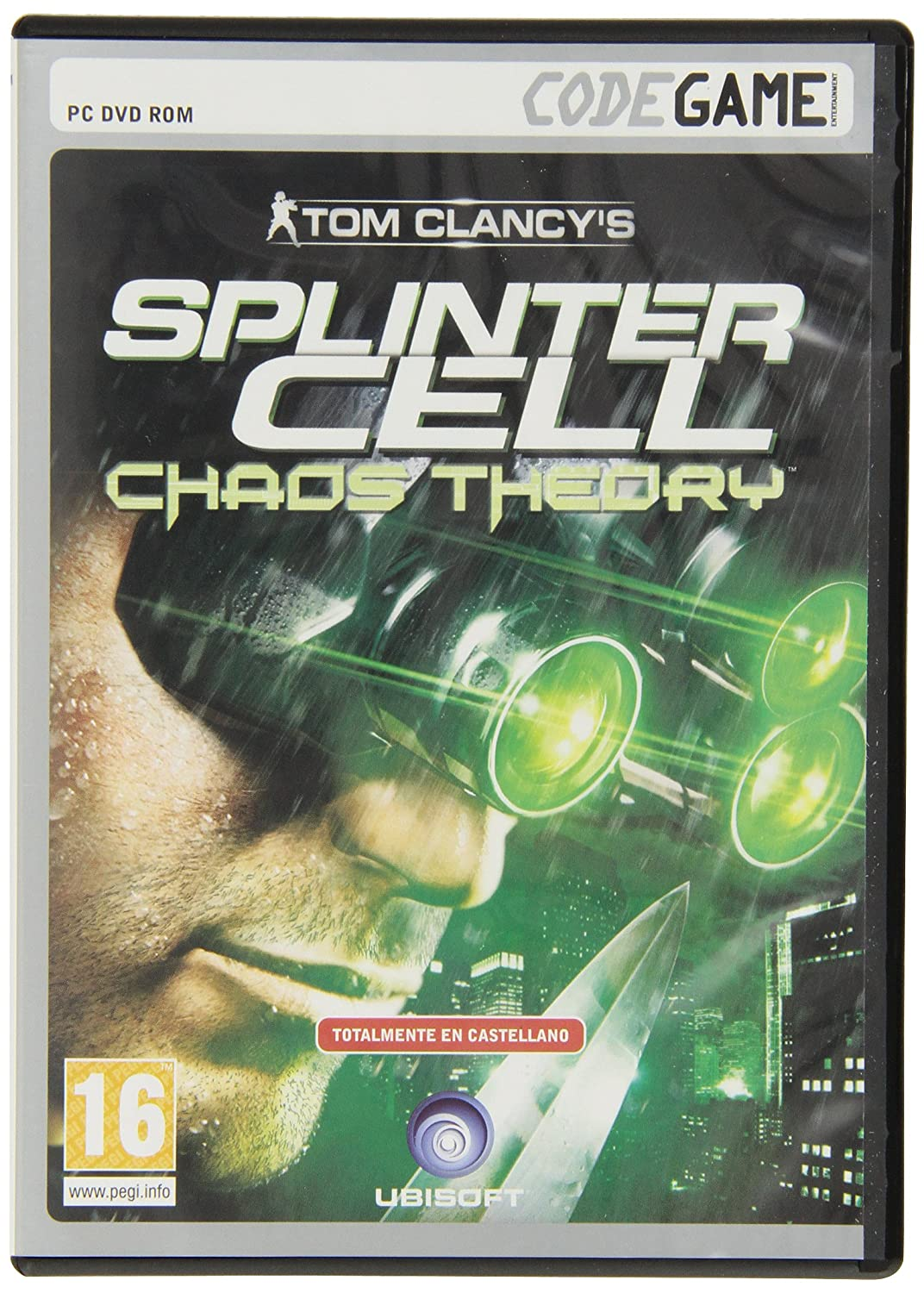 Codegame: Tom ClancyS Splinter Cell Chaos Theory: Amazon.es ...