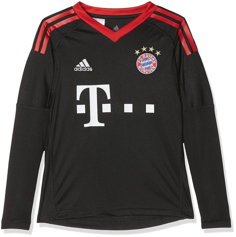 2017-2018 Bayern Munich Home Adidas Goalkeeper Shirt (Kids) AZ7945