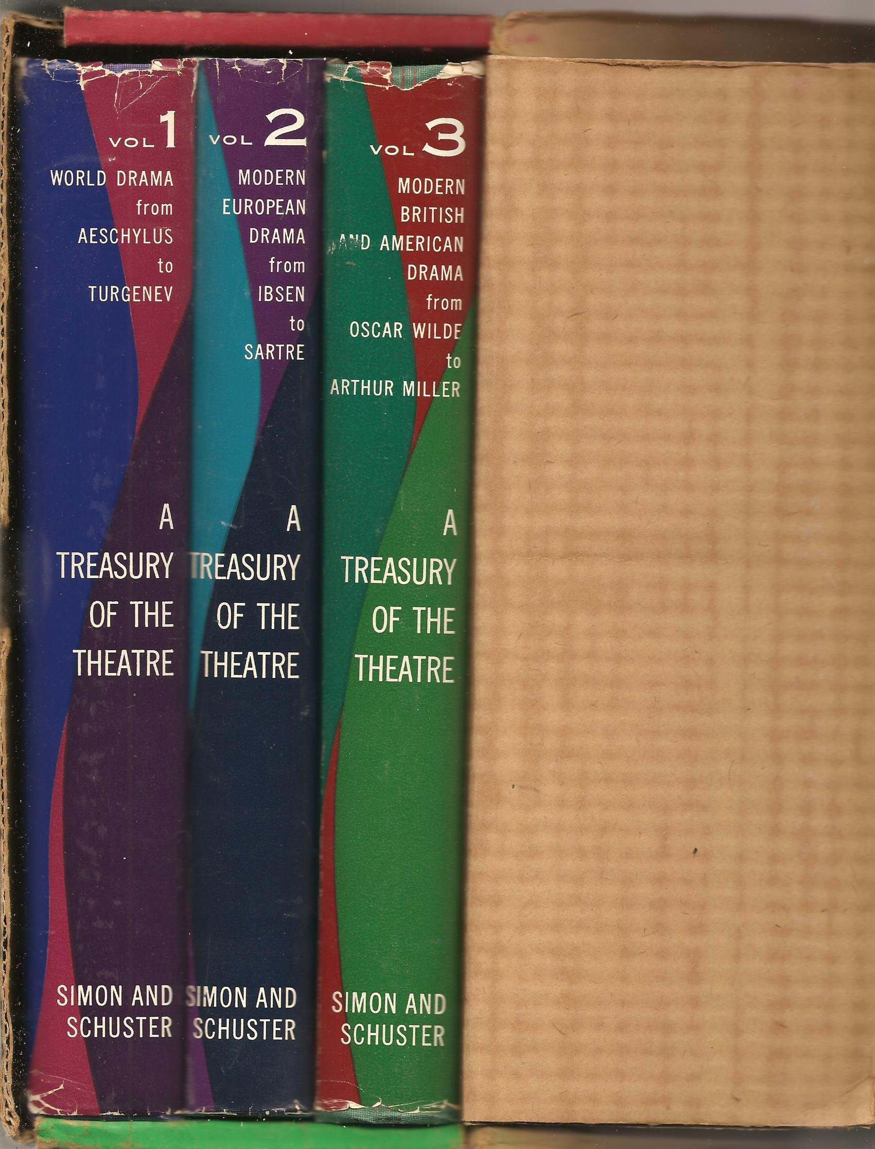 A Treasury of the Theatre [in 3 volumes]  (A Treasury of the