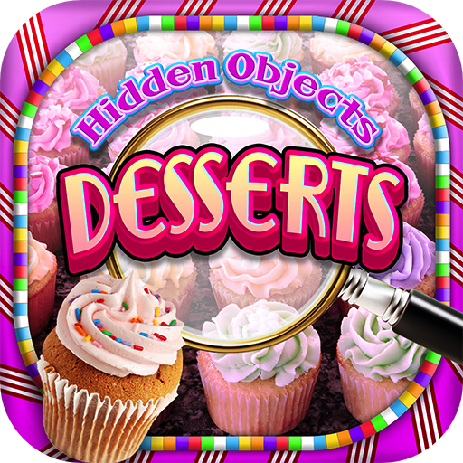 Hidden Objects - Desserts & Candy Cupcakes and Object Time Puzzle Free Photo Game