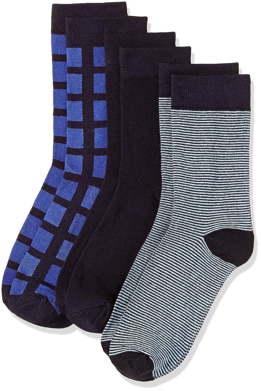 [Apply coupon] Amazon Brand - Symbol Men's Calf Socks (Pack of 3)