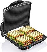 Panini Press Grill, Yabano Gourmet Sandwich Maker Non-Stick Coated Plates 11