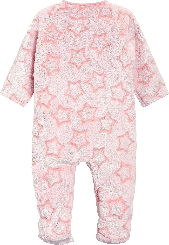0/Monate Bis 3/Jahre next Baby M/ädchen Fleece Schlafanzug Mit Sternenprint