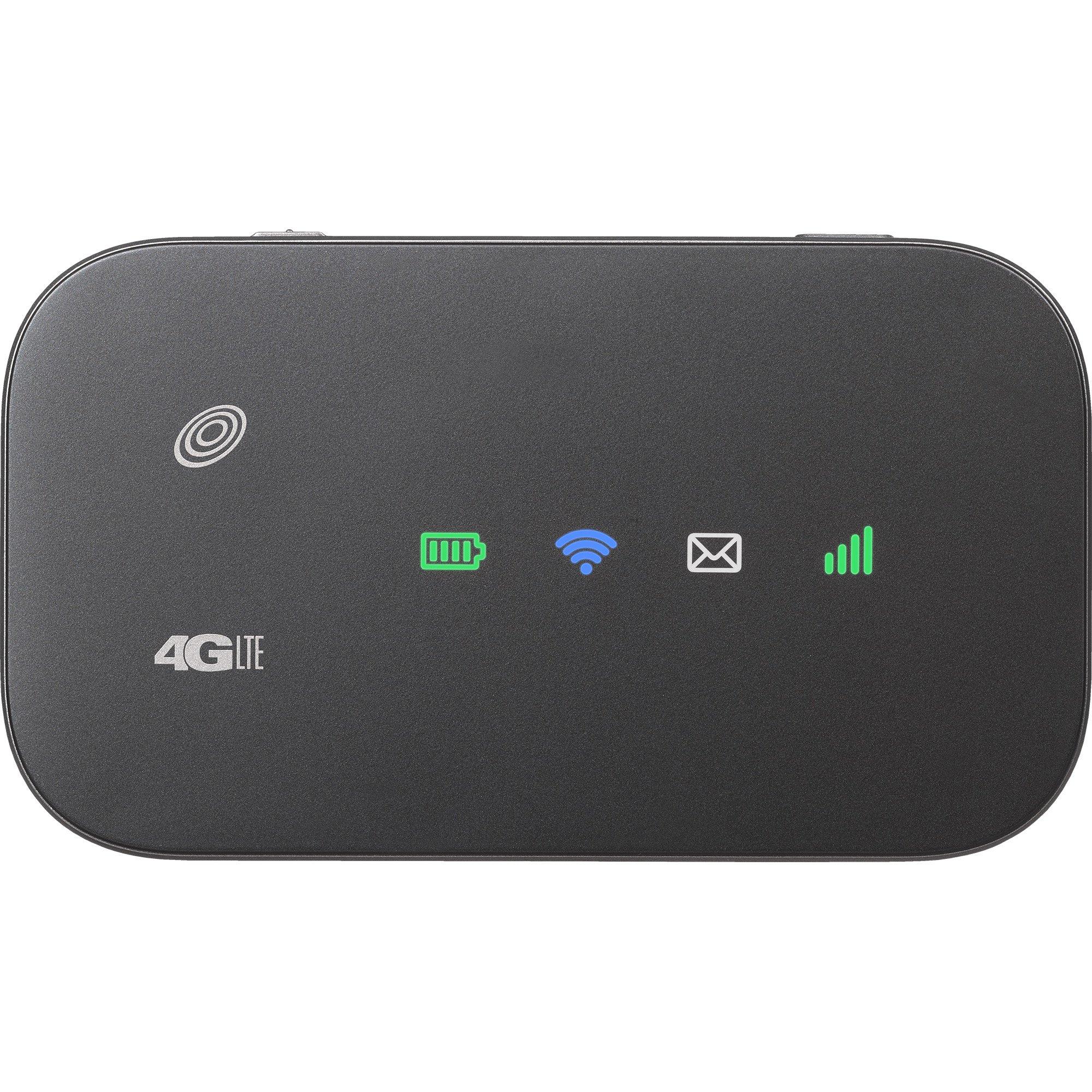 Simple Mobile Z291 Hotspot Prepaid Carrier Locked - Inch Screen - 0GB - Black (U.S. Warranty)