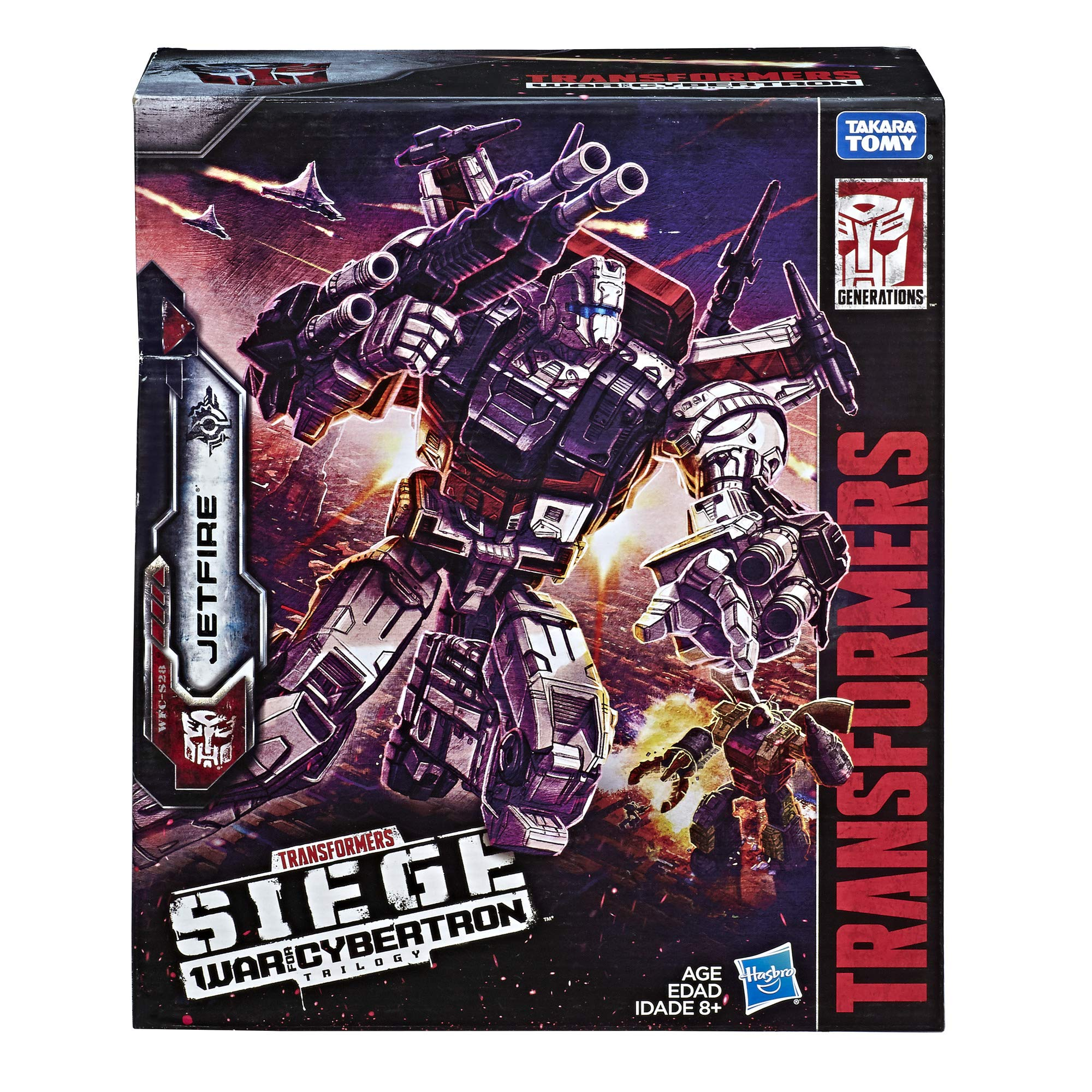 Transformers Toys Generations War for Cybertron Commander Wfc-S28 Jetfire Action Figure - Siege Chapter - Adults & Kids Ages 8 & Up, 11'' by Transformers (Image #4)