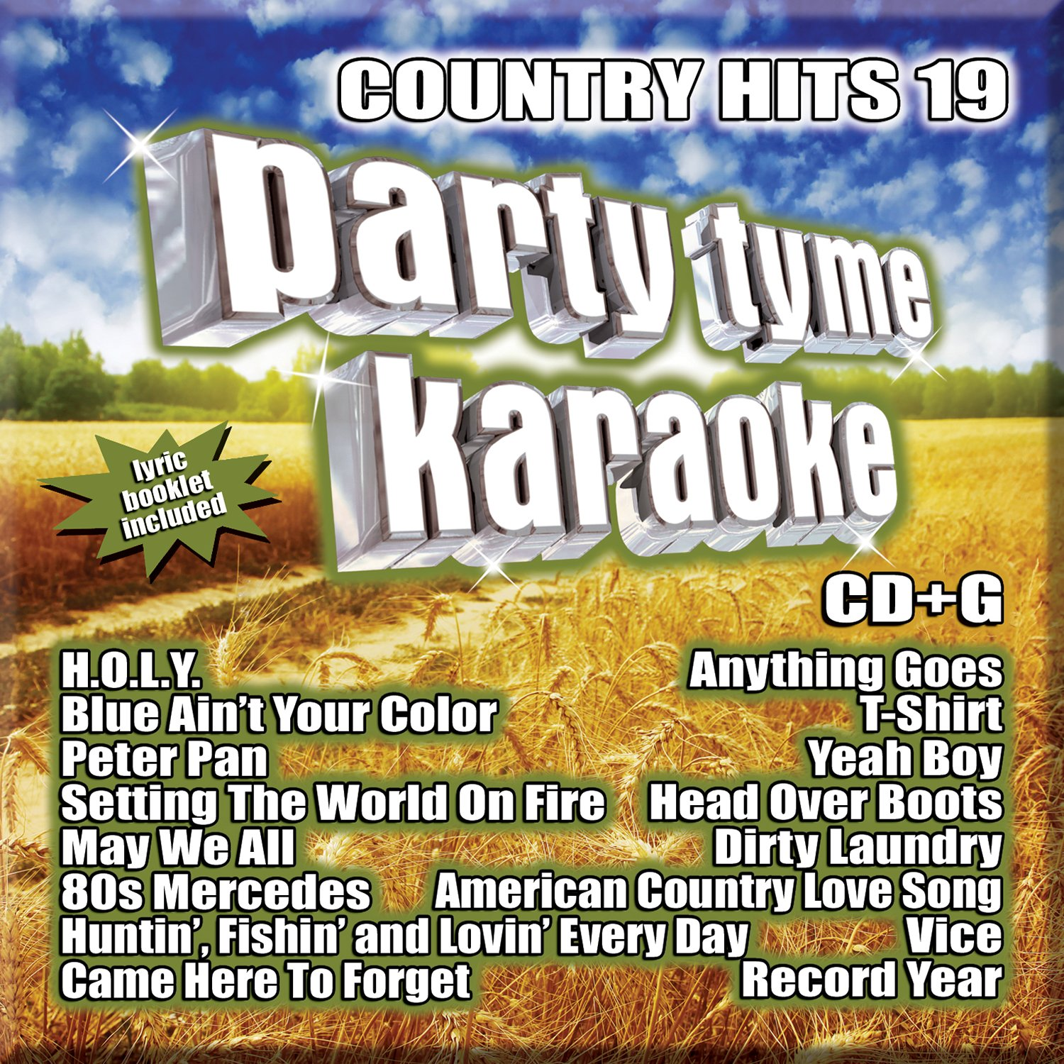 Country Hits 19 Sybersound Karaoke Universal Music Canada Pop V/a Compilations