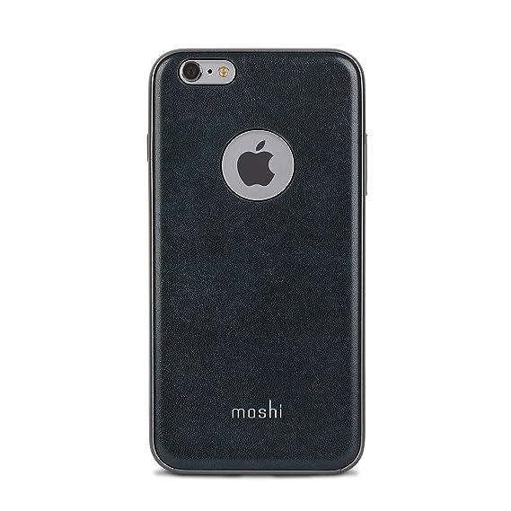 buy online 8136c 40f68 Moshi iGlaze Napa Vegan Leather iPhone 6/6s Case - Blue