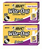Bic Wite Out Plus Super Smooth, 3 Pack